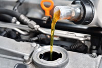 Motoröl wechsel