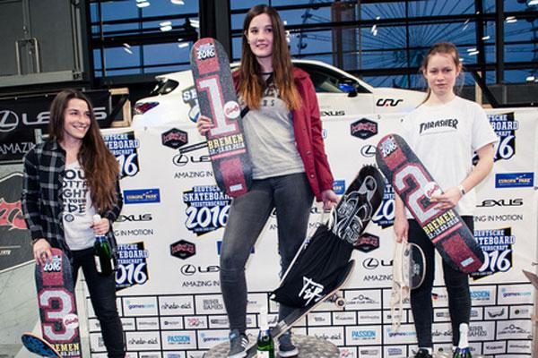 Foto Deutschen Skateboard Meisterschaft
