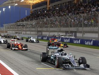 Foto: Formel1 Teams beim Start