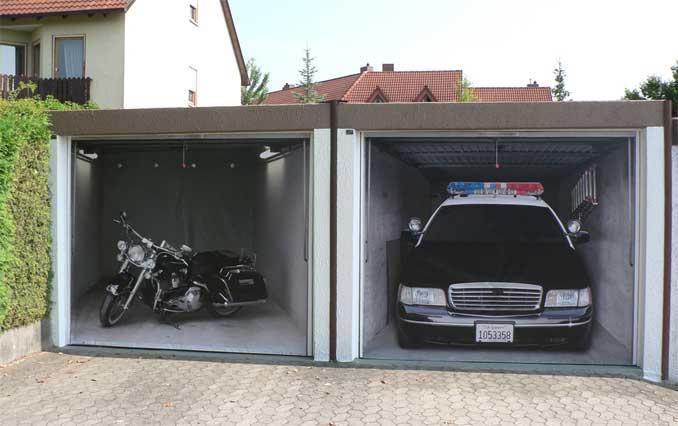 Chopper oder Polizeiwagen?