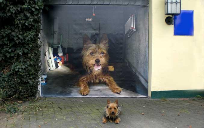 Die Tier wird jetzt der Star, und kann auf deine Garage.