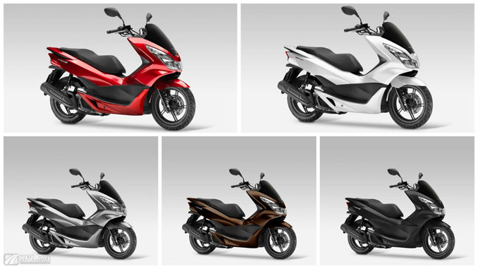 Honda PCX125 Farbvariationen