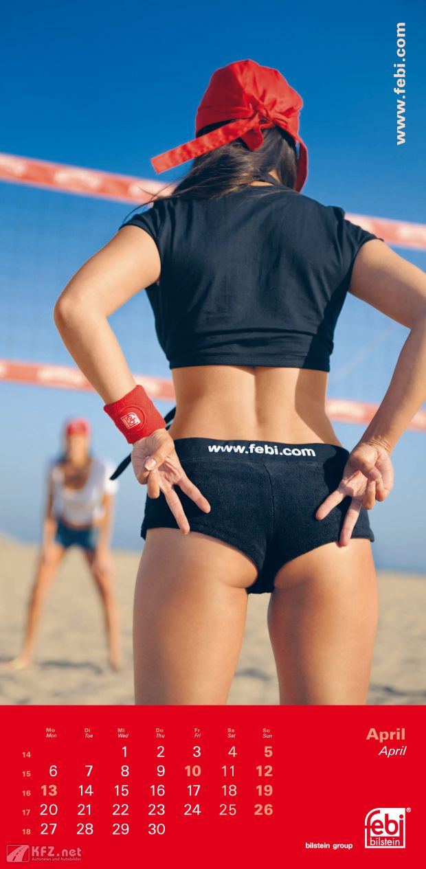Febi Bilstein Beachvolleyball Girl