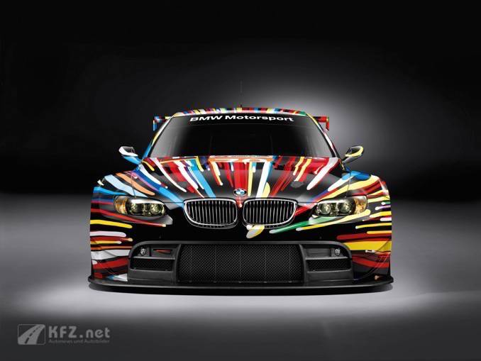 BMW GT2 Art Car Front