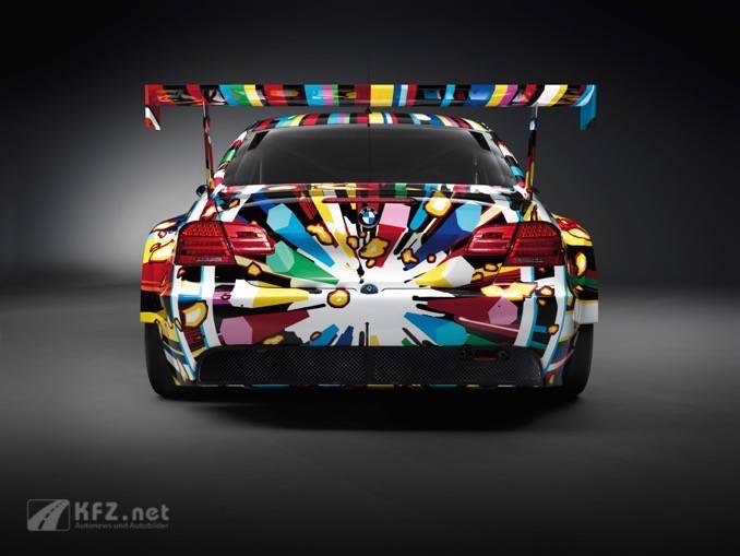 BMW M3 GT2 Art Car Rear