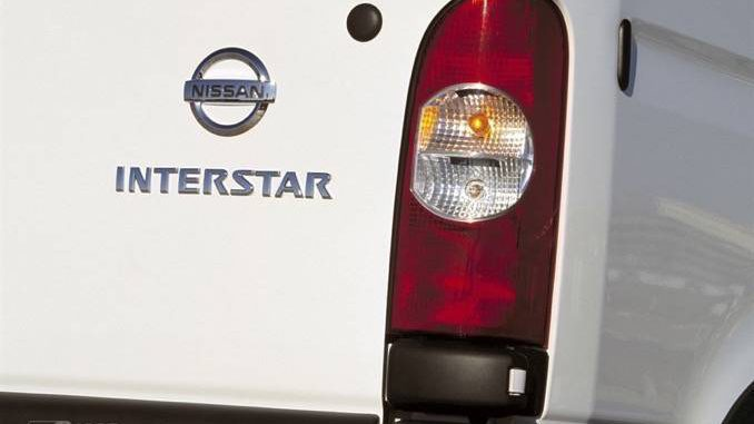 Nissan Interstar Rückseite
