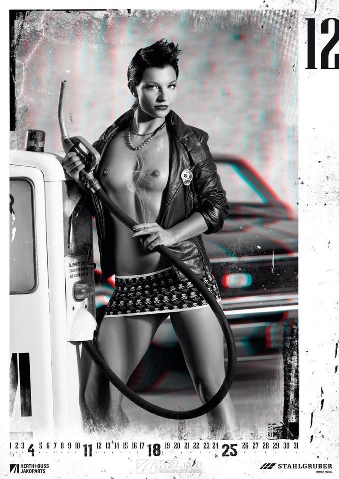STAHLGRUBER Jahreskalender 2011 Miss Dezember