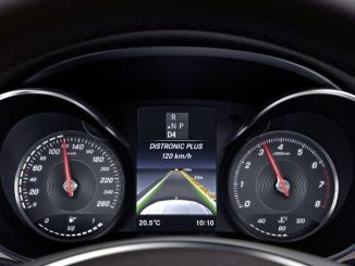 Foto: Mercedes DISTRONIC PLUS Anzeige