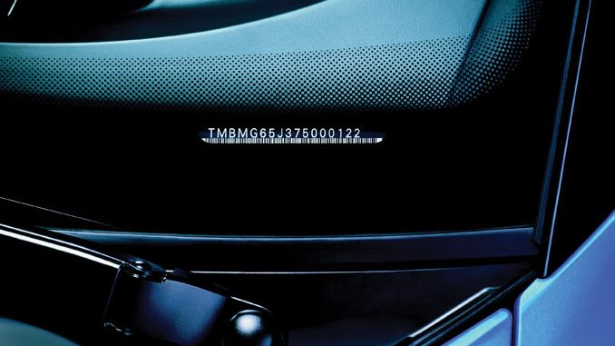 Foto Fahrzeug-Identifizierungsnummer (FIN)