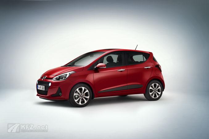 Hyundai i10 Seitenansicht