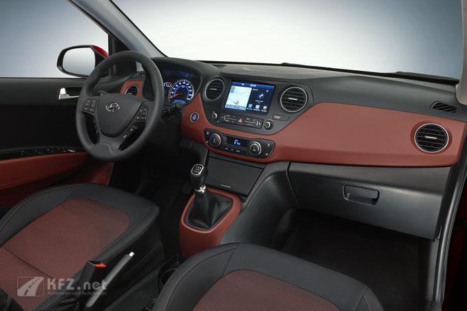 Hyundai i10 Bild Console