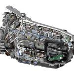 Zeichnung: 7G Tronic Automatik von Mercedes.