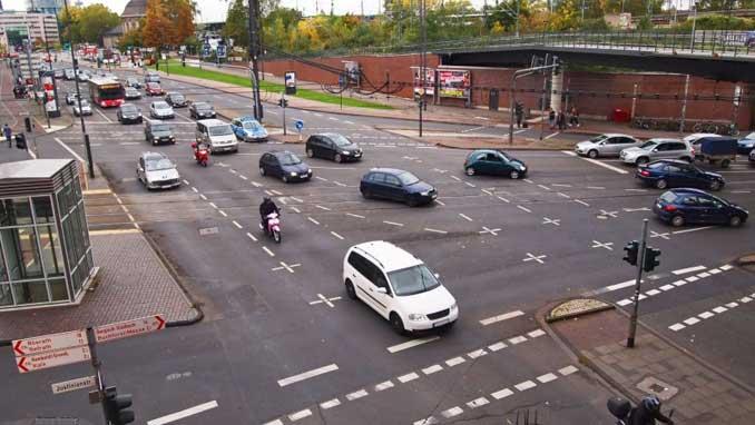 Foto Stadtverkehr