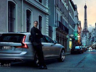 Volvo V90 mit Zlatan Ibrahimović