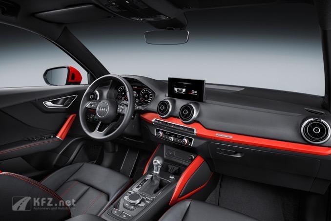 Audi Q2 Innenansicht
