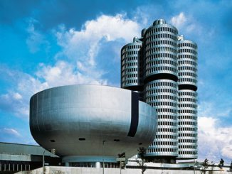 BMW München Gebäude