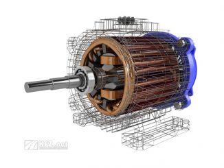 Grafik Drehstrom Asynchronmotor