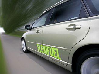 Foto Auto mit Flexifuel-Antrieb