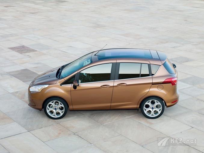 Foto Ford B-Max Brown