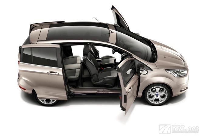 Foto Ford B-Max Open doors