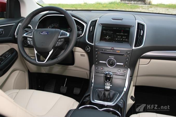 Ford Edge Mittelkonsole