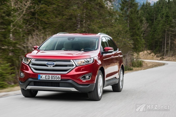Ford Edge Rot