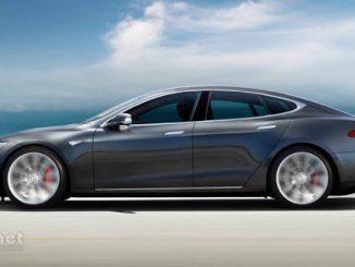 Foto der Elektrischen Tesla Model S Limousine