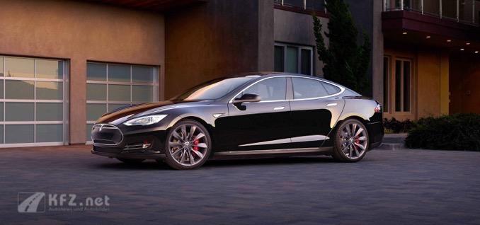 4 Türen Model S Auto
