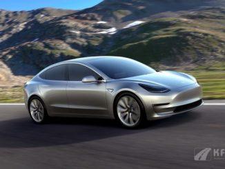 Tesla Model3 Front