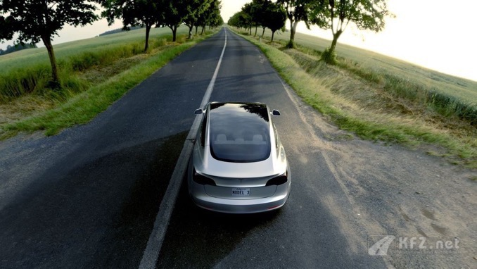 Tesla Model3 Panoramadach