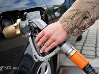 Autogas Zapfhahn