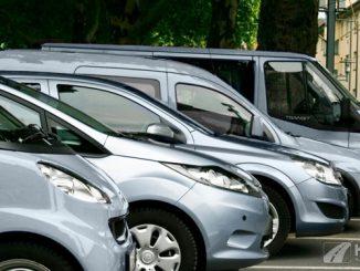 Foto: Carsharing Flotte von Cambio