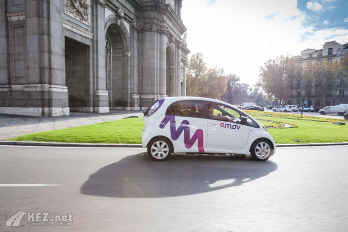 Foto: Emov Elektroauto in Madrid