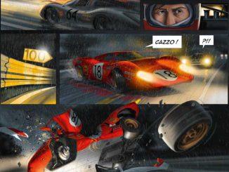 Zeichnung: Le Mans Autocomic