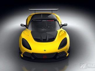 Bild: Lotus Exige Race 380 Frontansicht