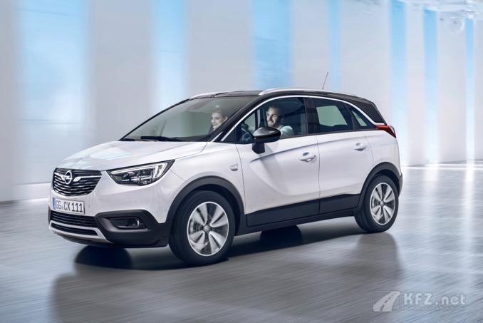 Foto: Opel Crossland X Front