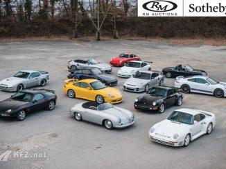 Porsche Fahrzeug in der Auktion