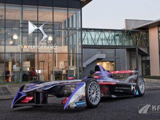Foto: DS Automobiles Formel-E Auto