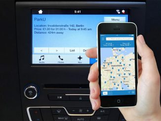 ParkU Parking App mit Display-Integration