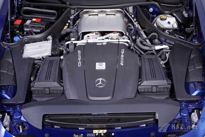 Foto: AMG GT-RSR Motor mit 612 PS