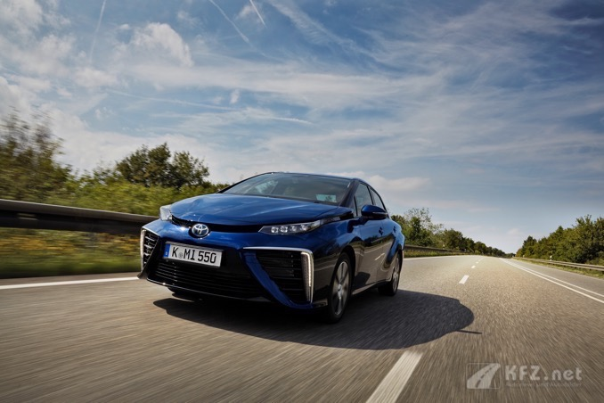 Toyota Mirai Frontansicht