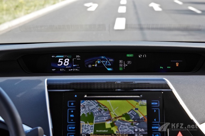 Toyota Mirai Cockpit