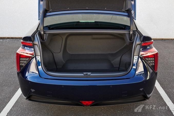 Toyota Mirai Kofferraum