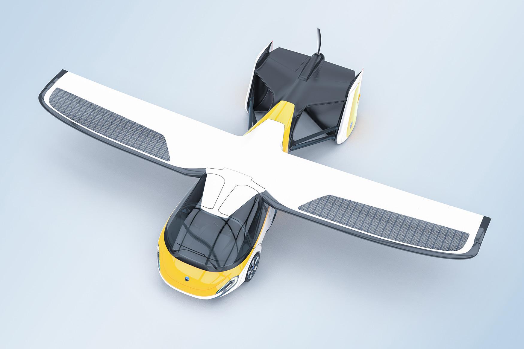 Foto: Fliegendes Auto von Aeromobil