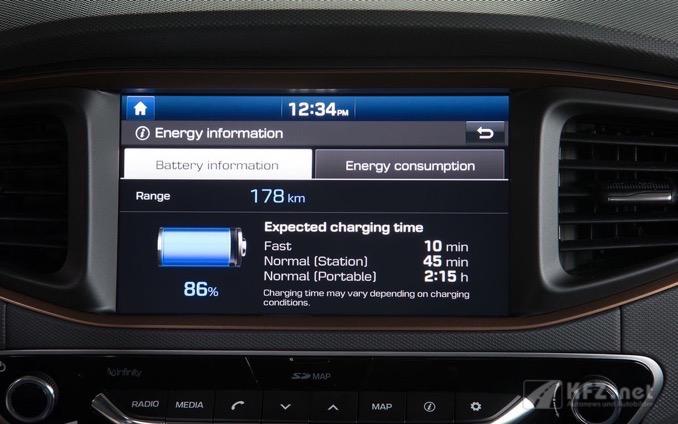 Hyundai ioniq Autobatterie