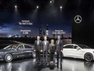 Der Mercedes Benz Vorstand.