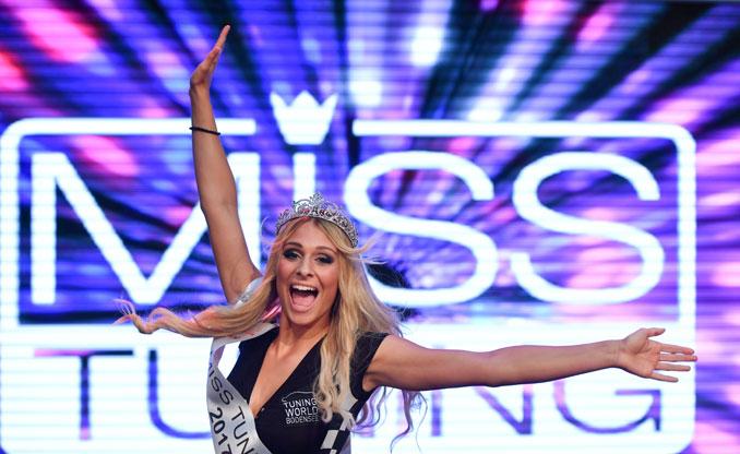 Vanessa Schmitt gewinnt die Miss Tuning Wahl 2017