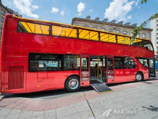 UNVI Elektrobus für Stadtrundfahrten