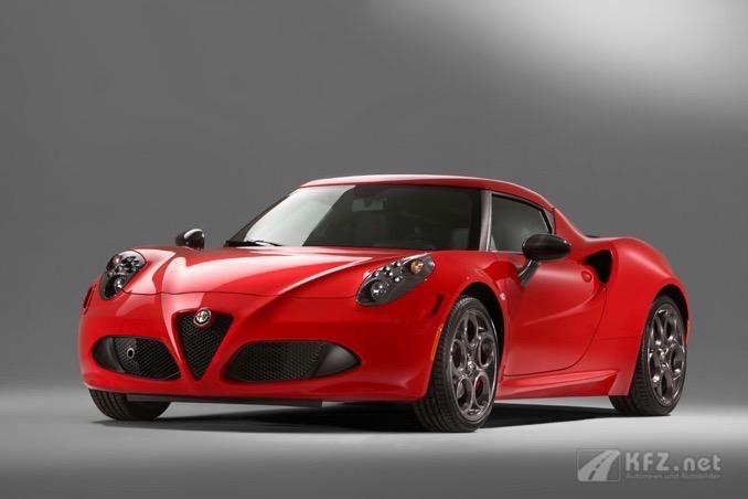 Alfa Romeo 4C Bild