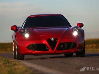 Alfa Romeo 4C Scheinwerfer
